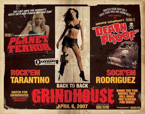 Nuevo cartel de Grindhouse